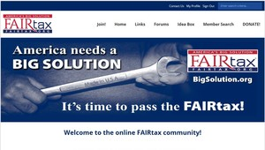 FAIRTAX HAS A NEW ONLINE COMMUNITY, AND WE WANT YOU TO JOIN!