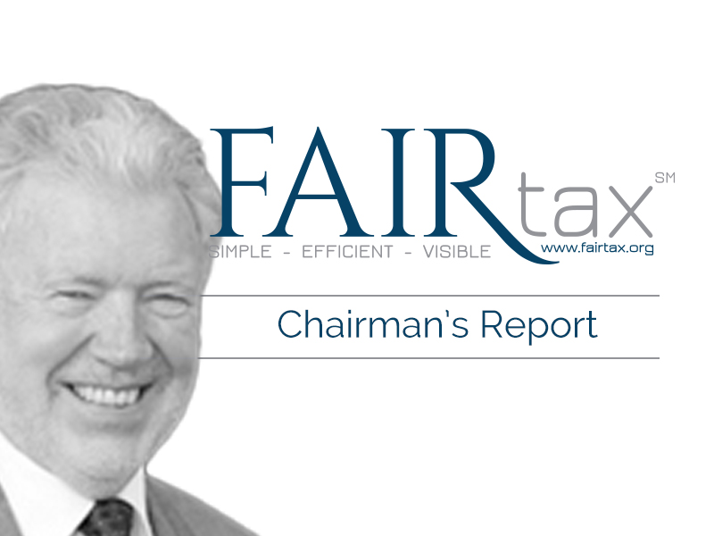The Chairman's Report January 22, 2021